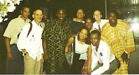 Oliver & members of the ECK Theater Ensemble